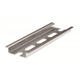 DIN-рейка металлическая, OMEGA 3F (с перфорацией) 35x7,5x1, длина 2 м