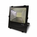 EUROELECTRIC LED SMD Прожектор черный с радиатором 100W 6500K