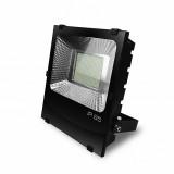 EUROELECTRIC LED SMD Прожектор чорный с радиатором 200W 6500K