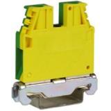 TEC.25/O, зажим для заземления желт.зелен 25 мм²
