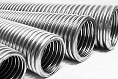Стальные трубы и металлорукава
